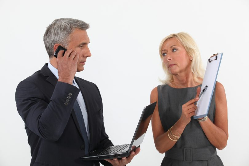 Взаимодействие руководителей при подборе