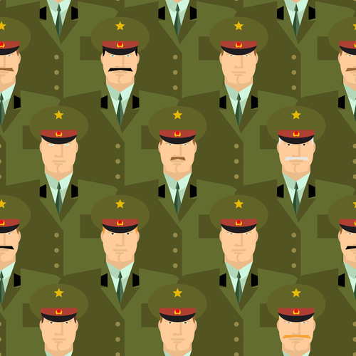 Образ офицера вызывает уважение