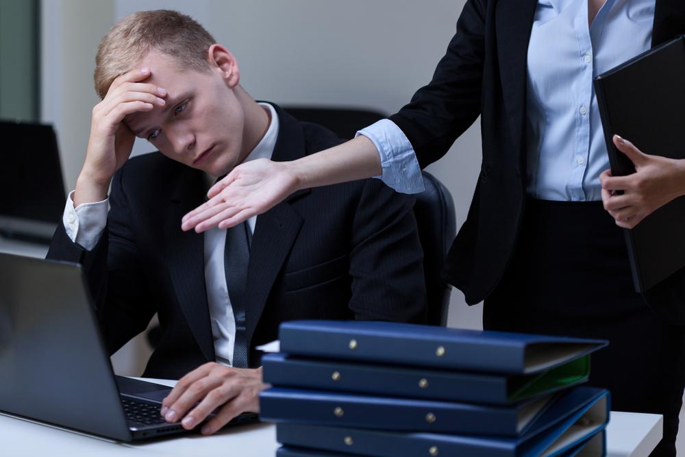 Director criticizing employee