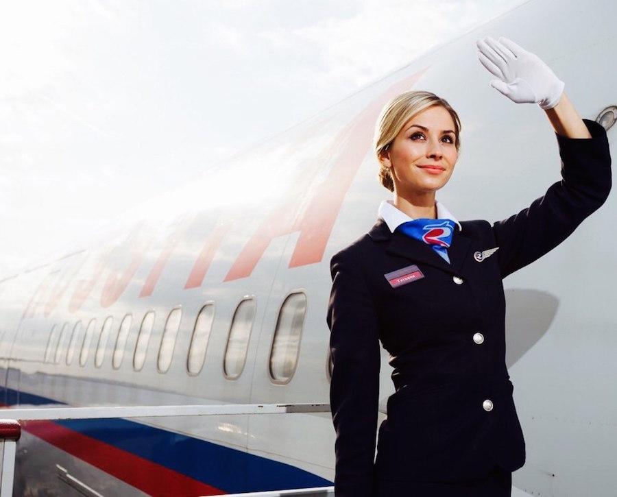 Фото самая красивая стюардесса россии