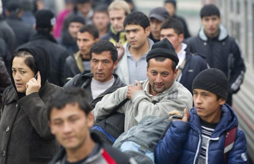 Отношение к мигрантам узбекистана в россии