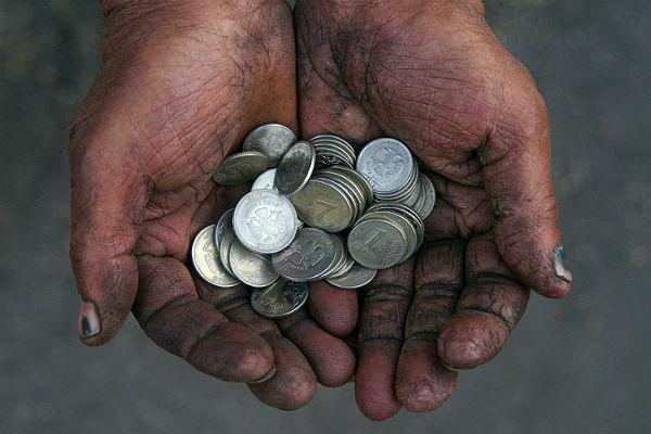 «12 млн нищих»: в России каждый шестой работник – бедняк
