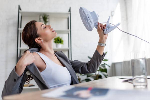 Вентилятор в офисе